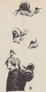 [drawing by Rogelio Naranjo]