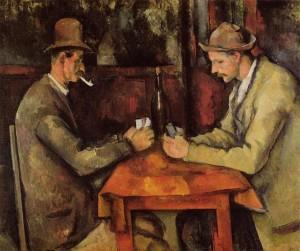[I Giocatori di Carte - Paul Cézanne]