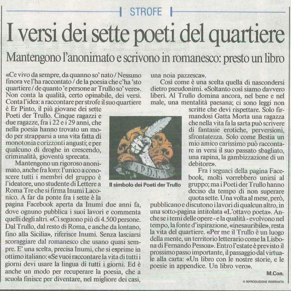 Il Messaggero – 15 Aprile 2012