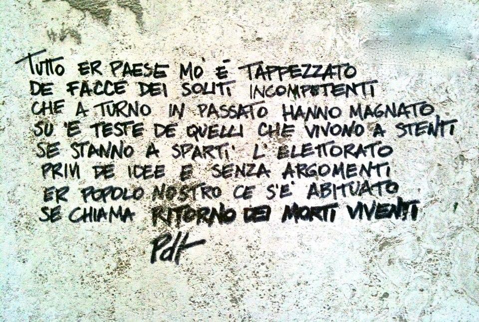 Poeti Der Trullo - presso Via Corinto 90.